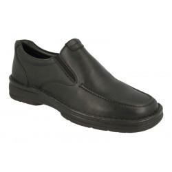 Широкие мужские туфли без шнуровки DB Shoes 87176A E-EEE(V)