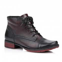 Autumn lace up low boots (with zipper) Remonte D4356-35