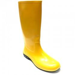 Women's rain boots 100P yellow