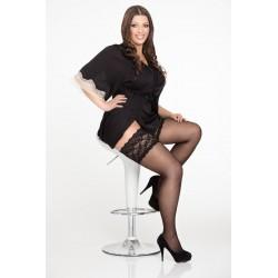 Big size stockings size LIDA 130 Size++ 20 DEN