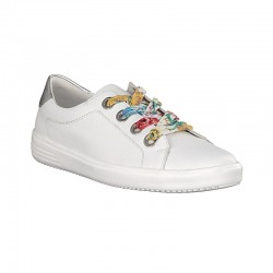 Big size white sneakers for women Remonte D1400-80
