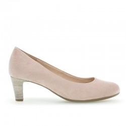Gaišas sieviešu kurpes uz vidēja papēža Gabor 41.400-44
