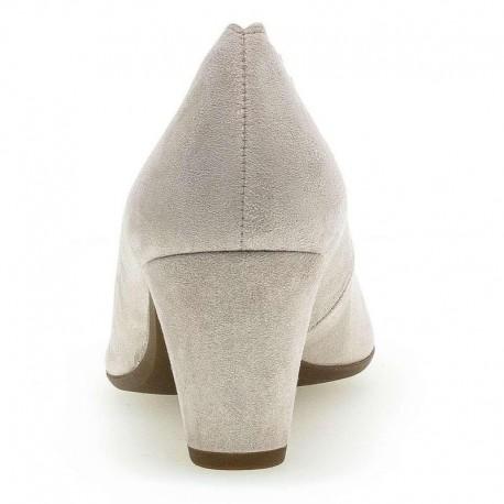 Gaišas sieviešu kurpes uz vidēja papēža Gabor 42.151.14
