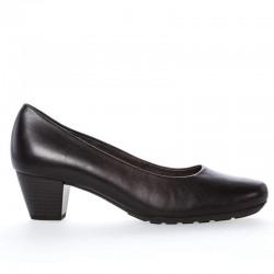 Klassisk svart kvinners sko Gabor 02.120.57