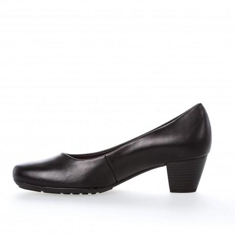 Klasiskas melnas sieviešu kurpes Gabor 02.120.57