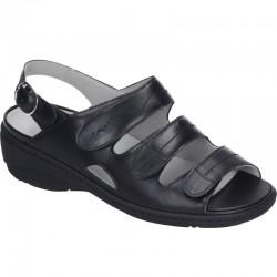Brede kvinners sandaler Waldläufer 710994