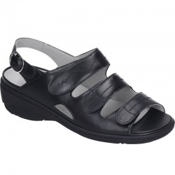Wide fit women's sandals Waldläufer 710994