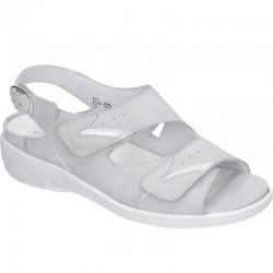 Wide fit women's sandals Waldläufer 711112