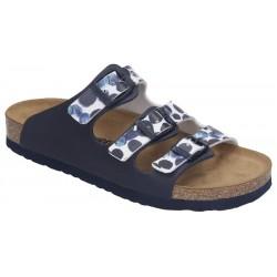 Womens Slide flip flops Brinkmann 701261