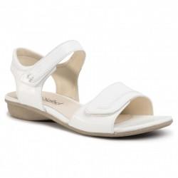 Hvit kvinners sandaler Josef Seibel 87518