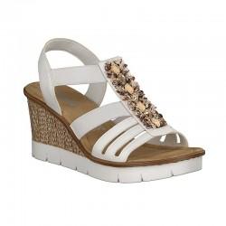 Womens sandals Rieker 65596-80