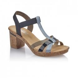 Kvinners sandaler  Rieker V4598-10