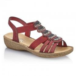 Womens sandals Rieker 65869-35