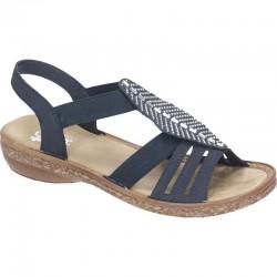Kvinners sandaler Rieker 628G6-14
