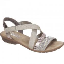Womens sandals Rieker V3463-60