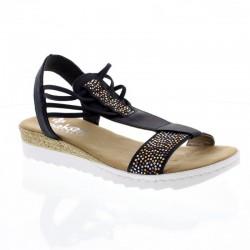 Kvinners sandaler  Rieker 63062-14