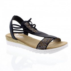 Womens sandals Rieker 63062-14
