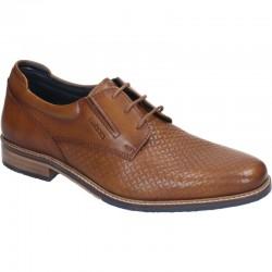 Коричневые мужские туфли Manitu 650535