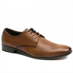 Brown men's shoes Manitu 650530