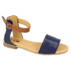 Brede kvinners sandaler DB Shoes 78711N 4E