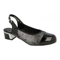 Extra wide fit slingback DB Shoes 54075Q 6E