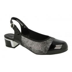 Brede sandal med lukket tå DB Shoes 58075Q 2V