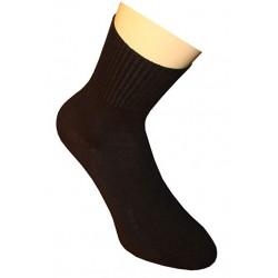 Big Size Men's Black Socks Size 47-48.