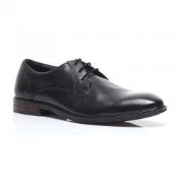 Classic black men's shoes in big sizes Josef Seibel 42203