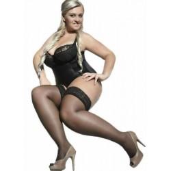 Bella big size stockings 15 DEN