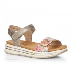 Krāsainas sieviešu sandales Remonte R2952-90