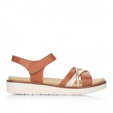 Brūnas sieviešu sandales Remonte D2058-24