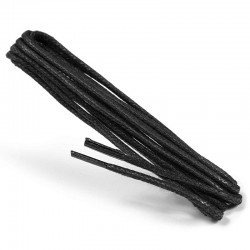 Long waxed shoe laces 120 cm